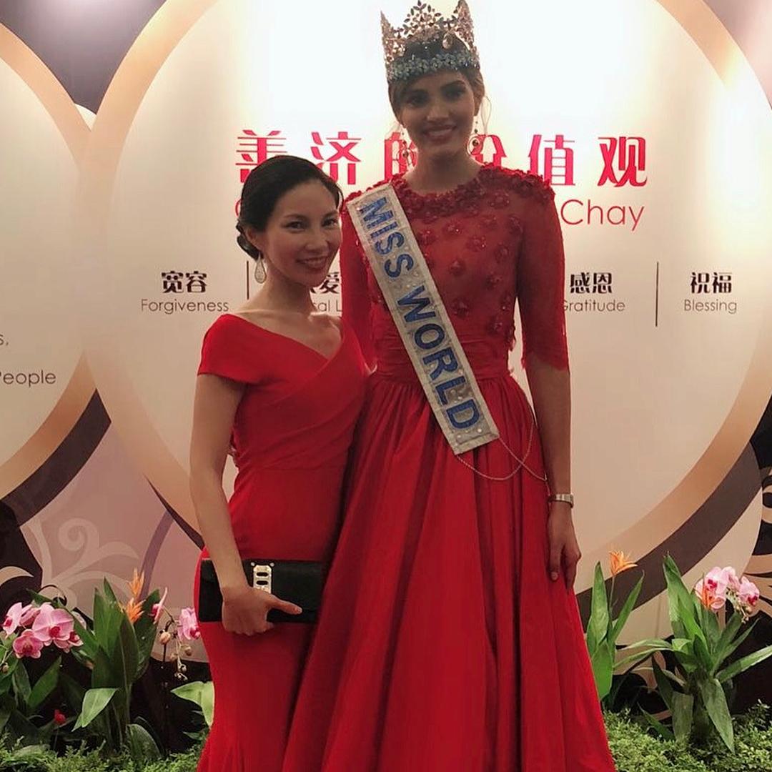 miss world 2016 durante tour de beauty with a purpose em singapore. 37507910