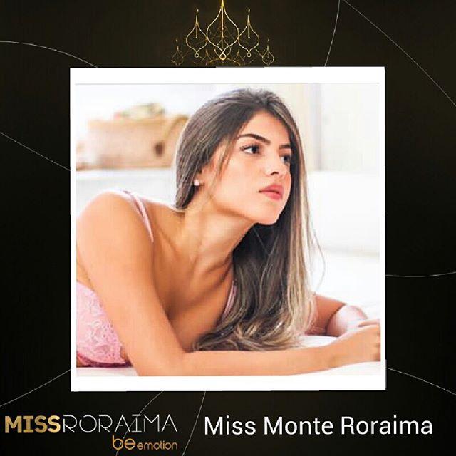 mariana meneses, miss monte roraima 2019. 37739010