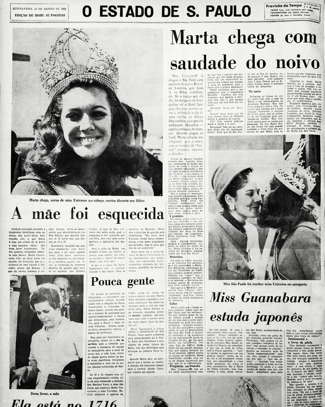☽ ✮ ✯ ✰ ☆ ☁ Galeria de Martha Vasconcelos, Miss Universe 1968.☽ ✮ ✯ ✰ ☆ ☁ - Página 3 38850510