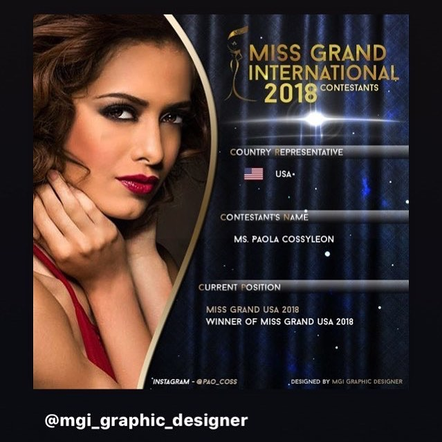 paola melissa cossyleon felix, miss grand usa 2018. 39049011