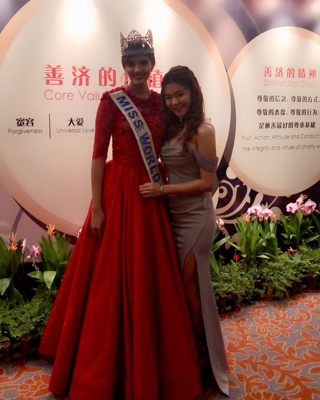 miss world 2016 durante tour de beauty with a purpose em singapore. 39330811
