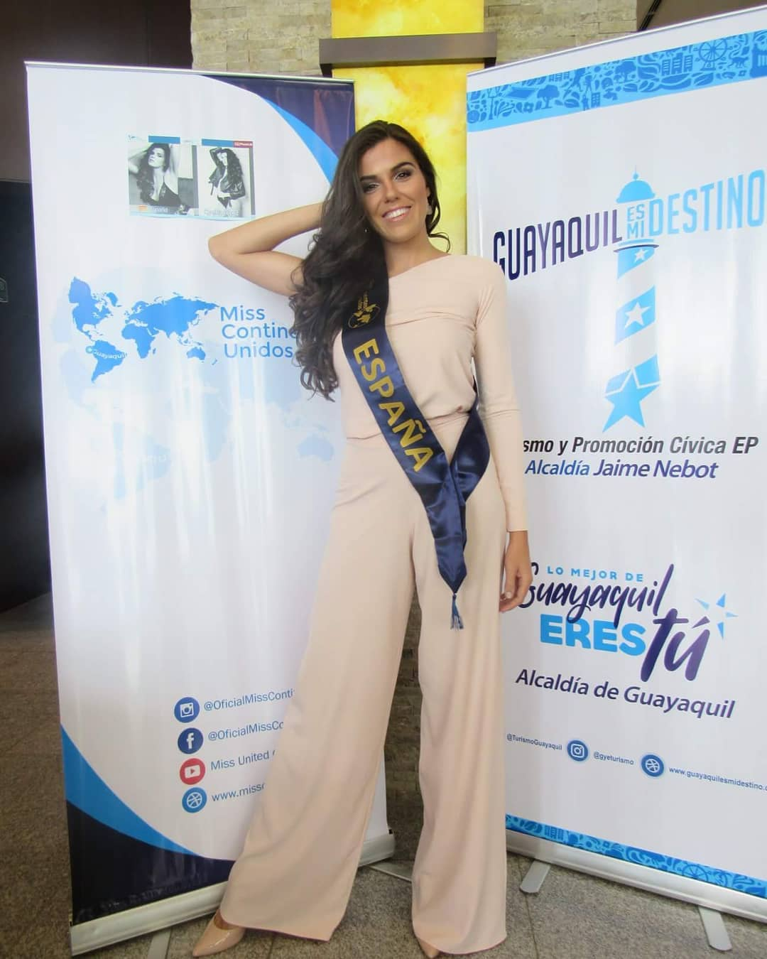 cynthia ruz lopez escobar, 3rd runner-up de miss continentes unidos 2018. - Página 2 40087110