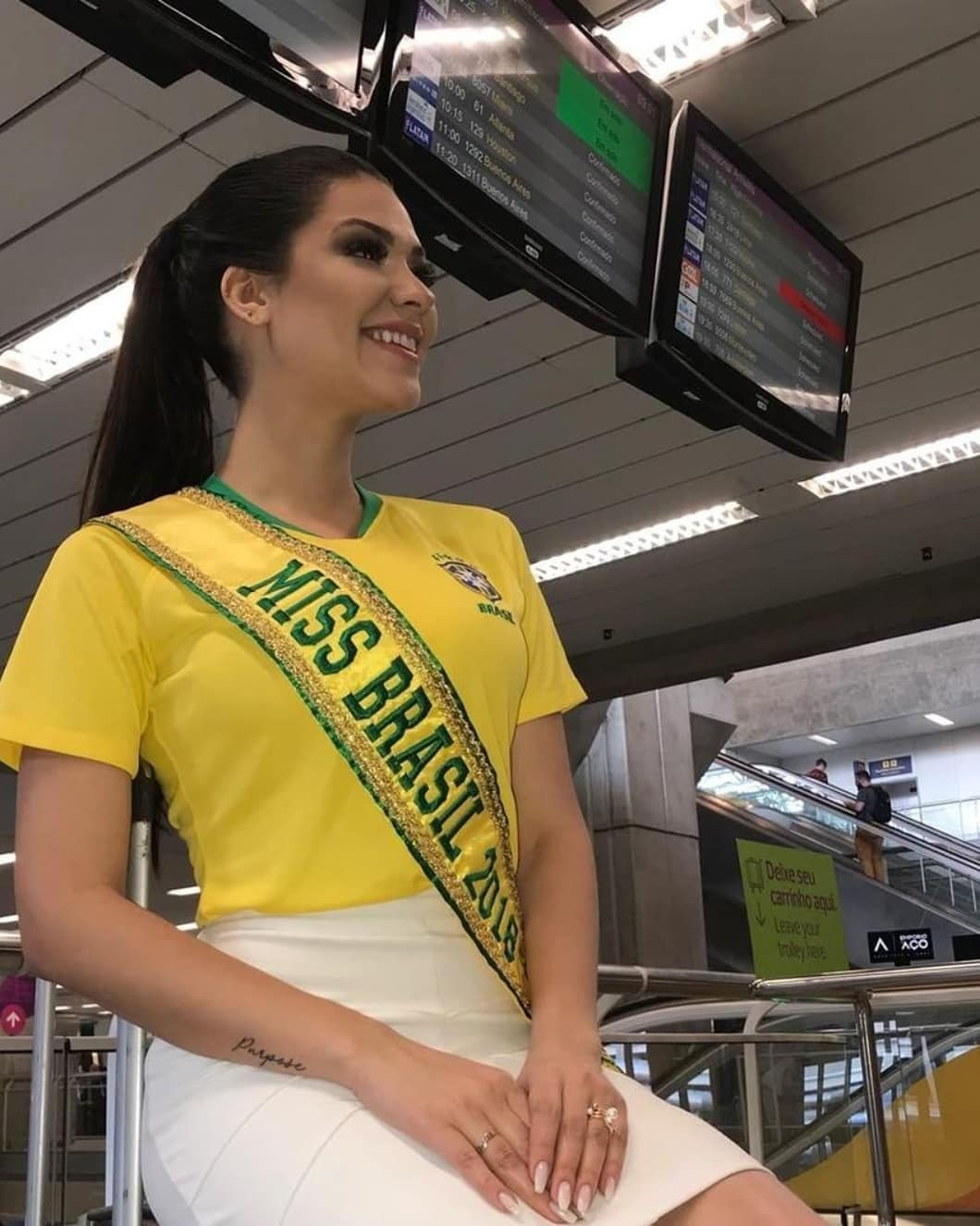 gleycy correia, miss brasil continentes unidos 2018. - Página 3 40175910