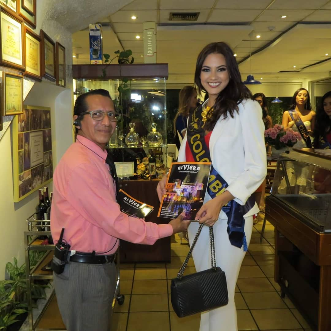 ana catalina mouthon, 2nd runner-up de miss continentes unidos 2018. - Página 2 40178810