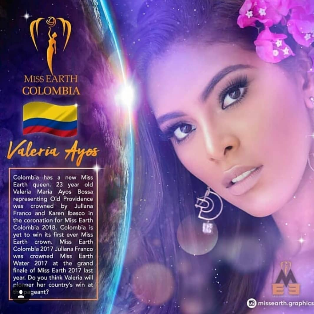 valeria ayos bossa, miss water earth 2018. 40203510