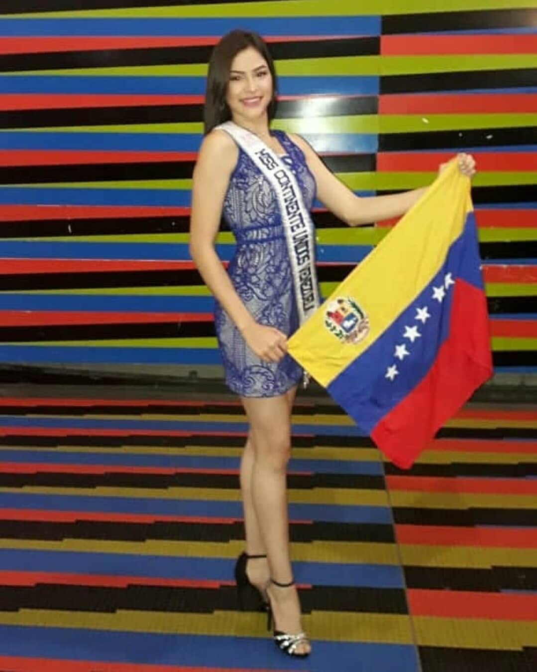 lolimar perez, miss venezuela continentes unidos 2018. 40230110