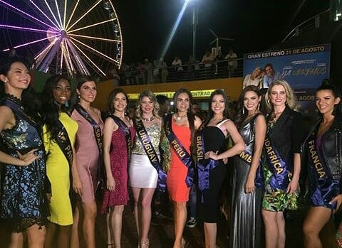 lolimar perez, miss venezuela continentes unidos 2018. 40268810