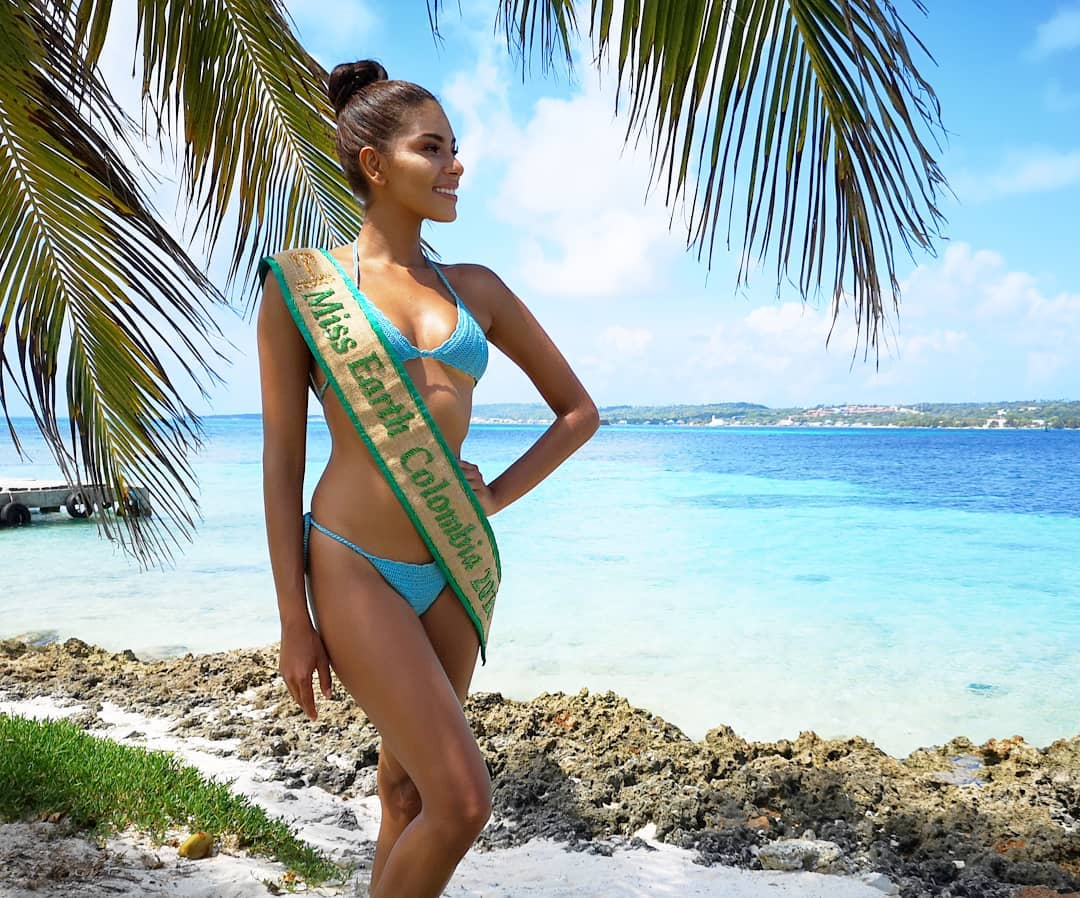 valeria ayos bossa, miss water earth 2018. 40337911