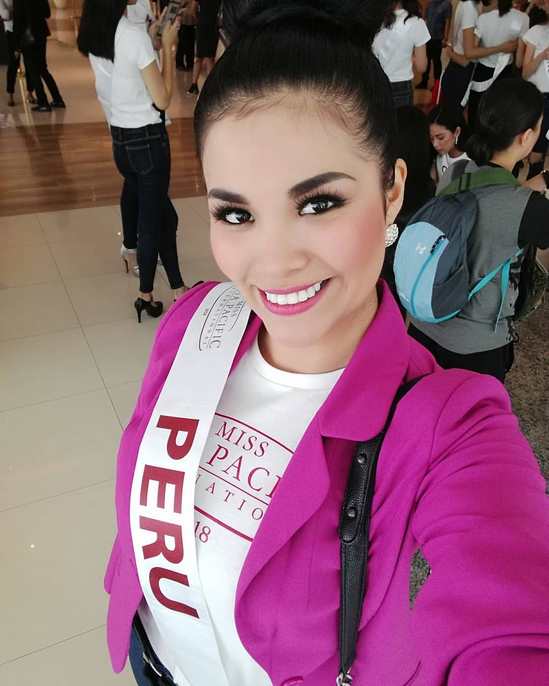 karen isabel rojas, miss tourism world peru 2019/top 20 de miss asia pacific international 2018/miss earth peru 2017. - Página 15 40647210