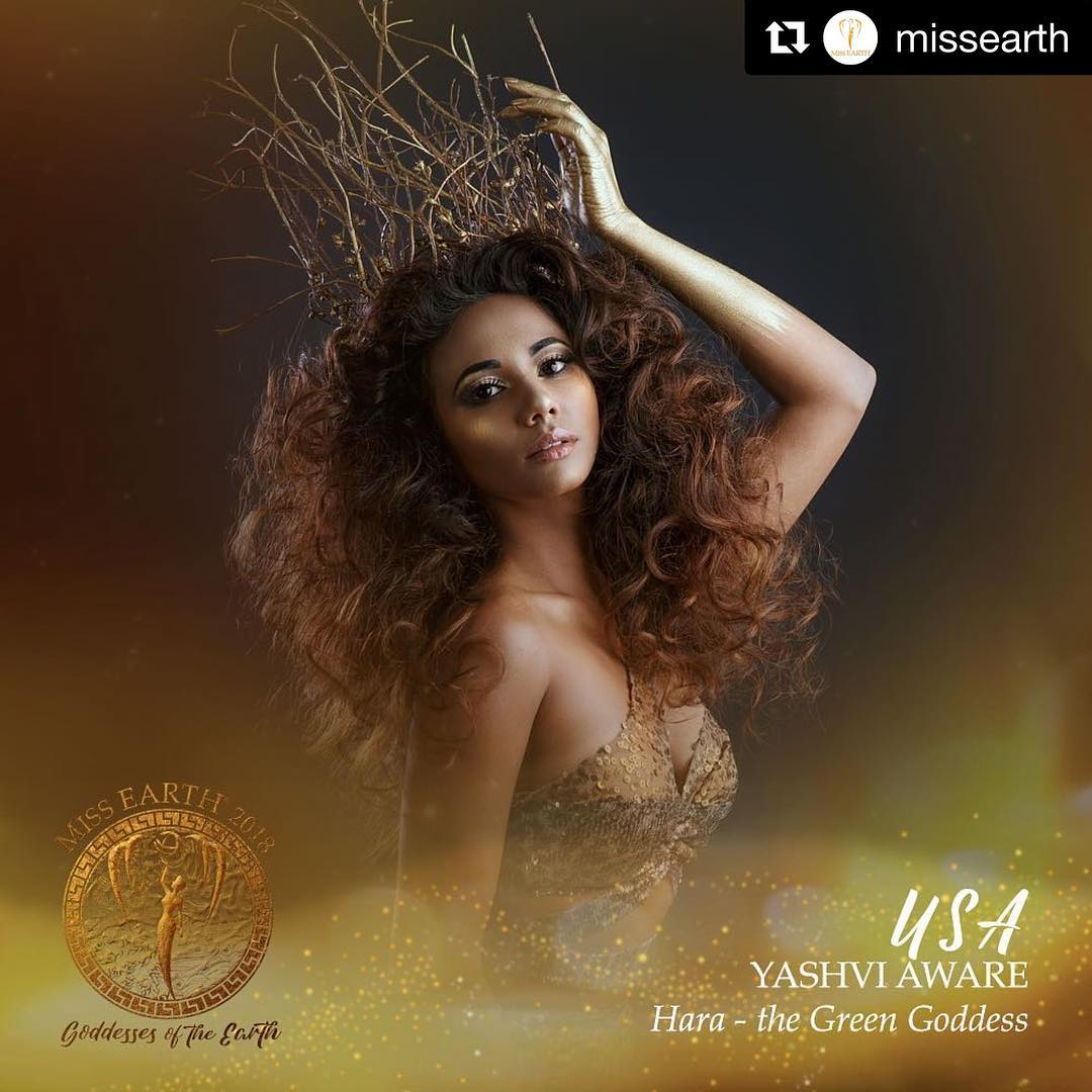 yashvi aware, miss earth usa 2018. 40705711