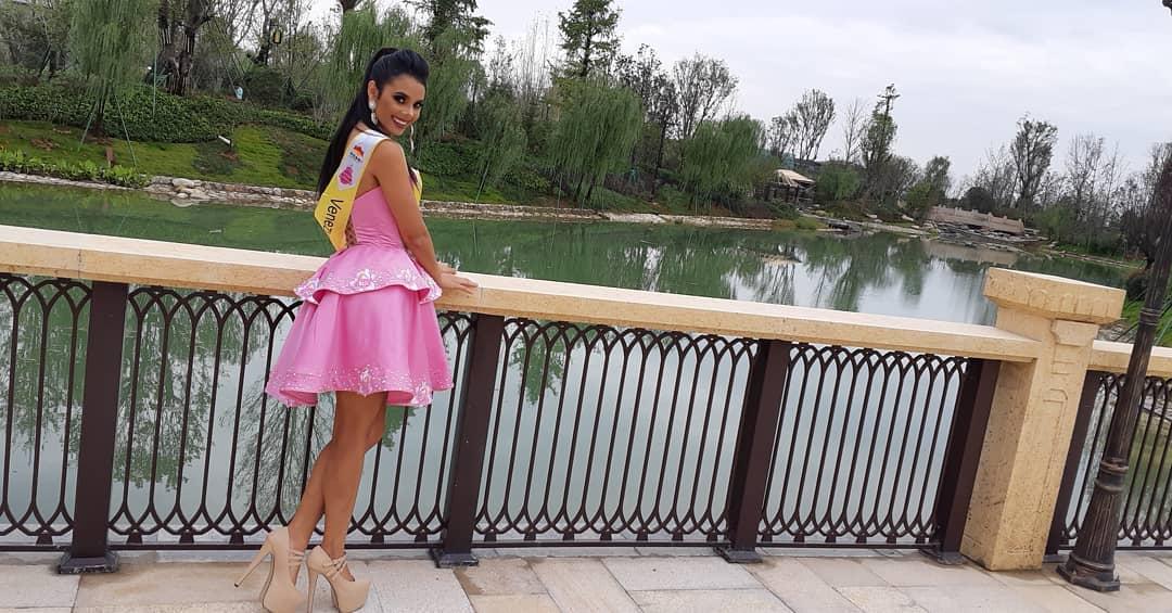 alexandra sanabria, miss tourism world venezuela 2018. - Página 5 40778911