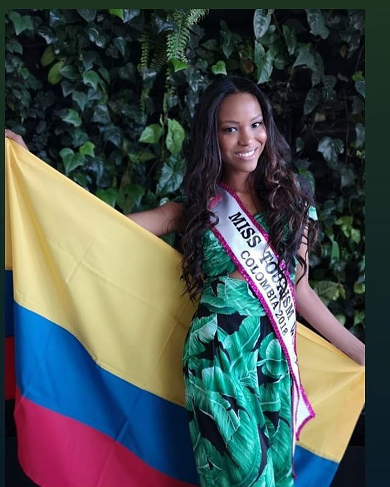 katherine huila, miss tourism world colombia 2018. 41209510