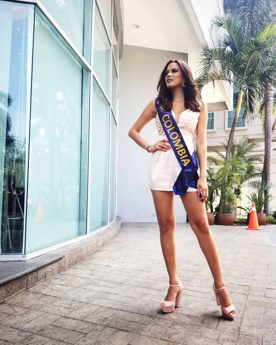 ana catalina mouthon, 2nd runner-up de miss continentes unidos 2018. - Página 2 41382010