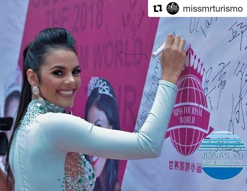 alexandra sanabria, miss tourism world venezuela 2018. - Página 2 41394810