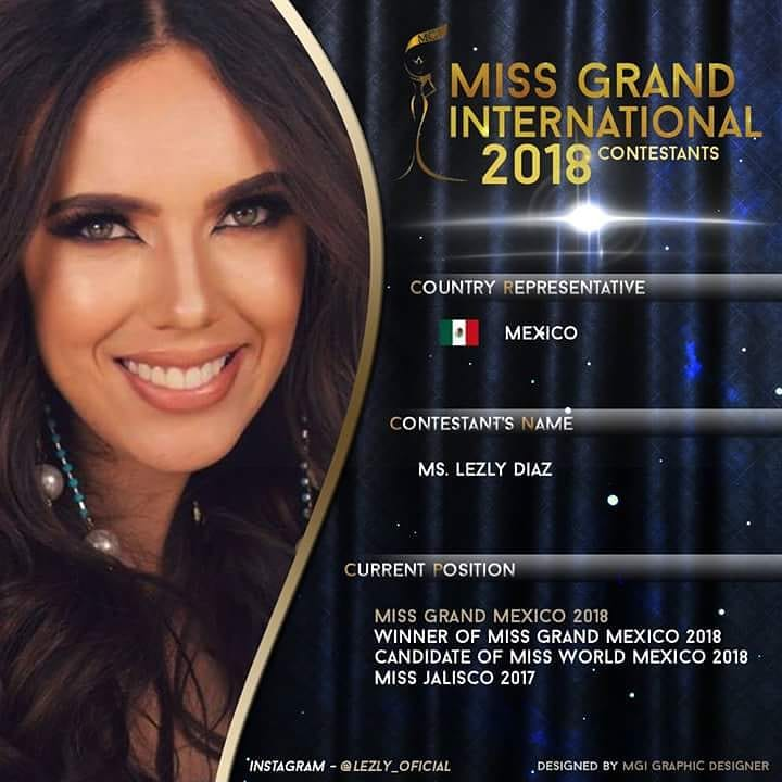 lezly diaz, top 10 de miss grand international 2018. - Página 5 41747710