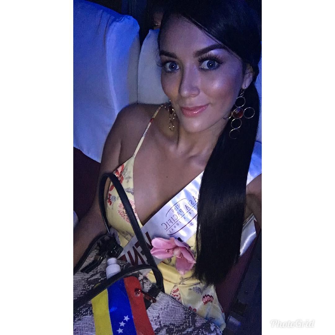 mariani chacon, 4th runner-up de miss asia pacific international 2018. - Página 5 41971810