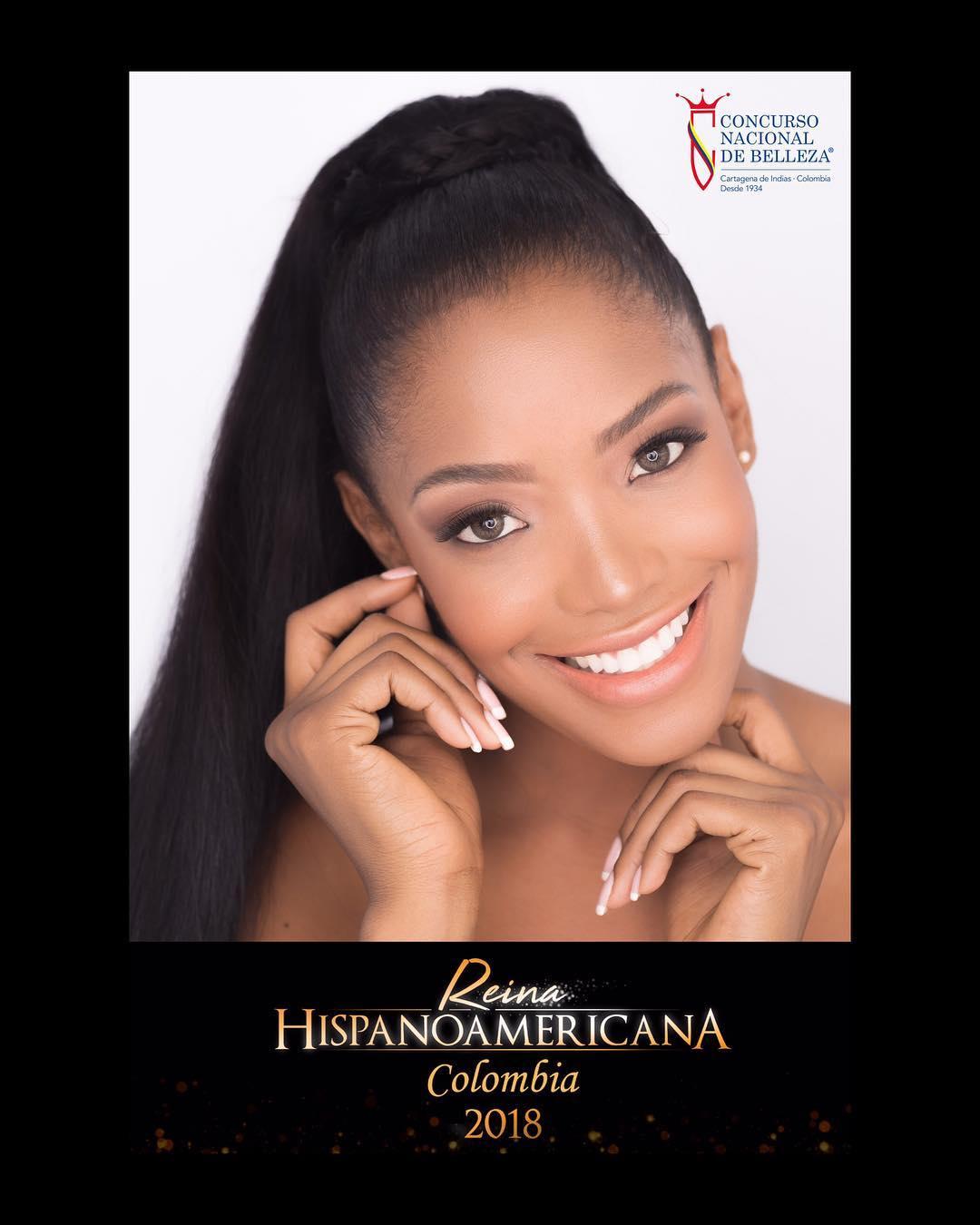 alma diaz, miss colombia hispanoamericana 2018. 42003113