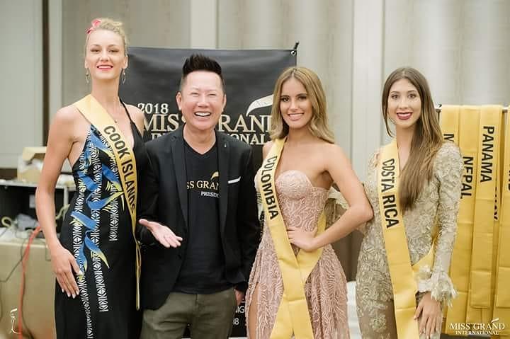 sheyla quizena, miss grand colombia 2018. - Página 3 42003313