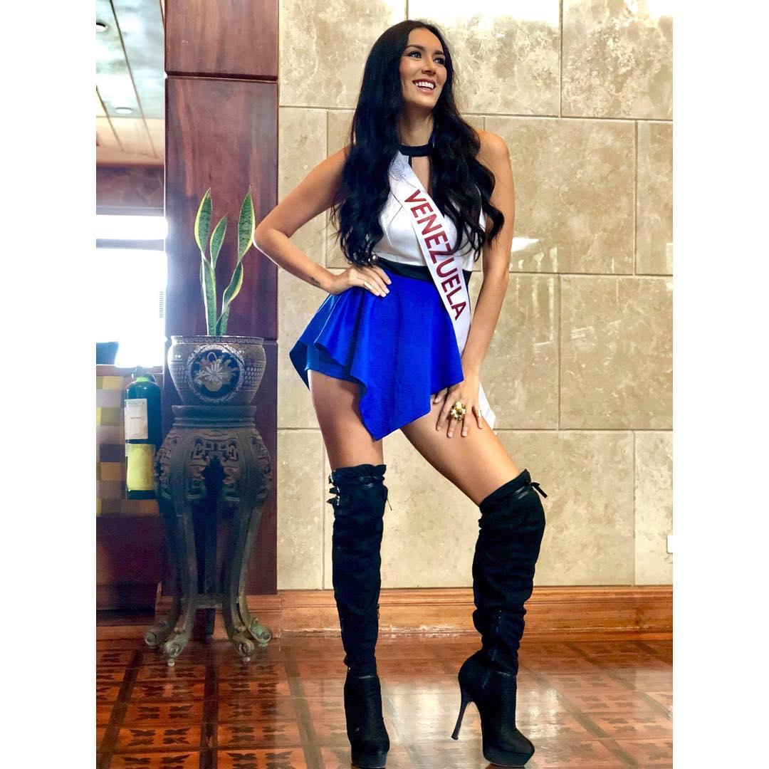 mariani chacon, 4th runner-up de miss asia pacific international 2018. - Página 5 42078410
