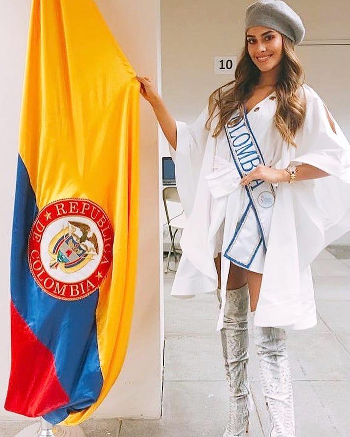 valeria morales, miss colombia universo 2018. - Página 6 42666710