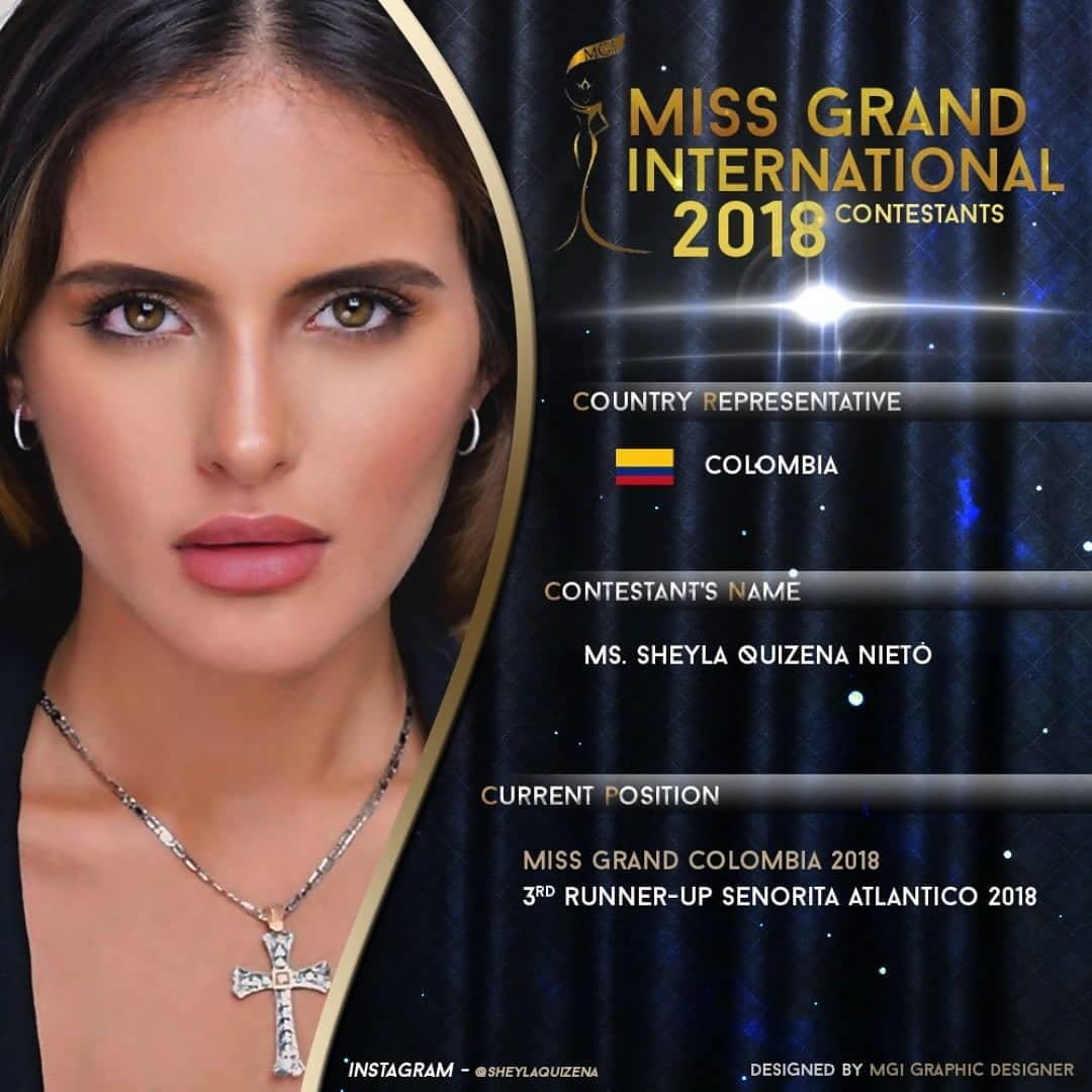 sheyla quizena, miss grand colombia 2018. - Página 2 42674210