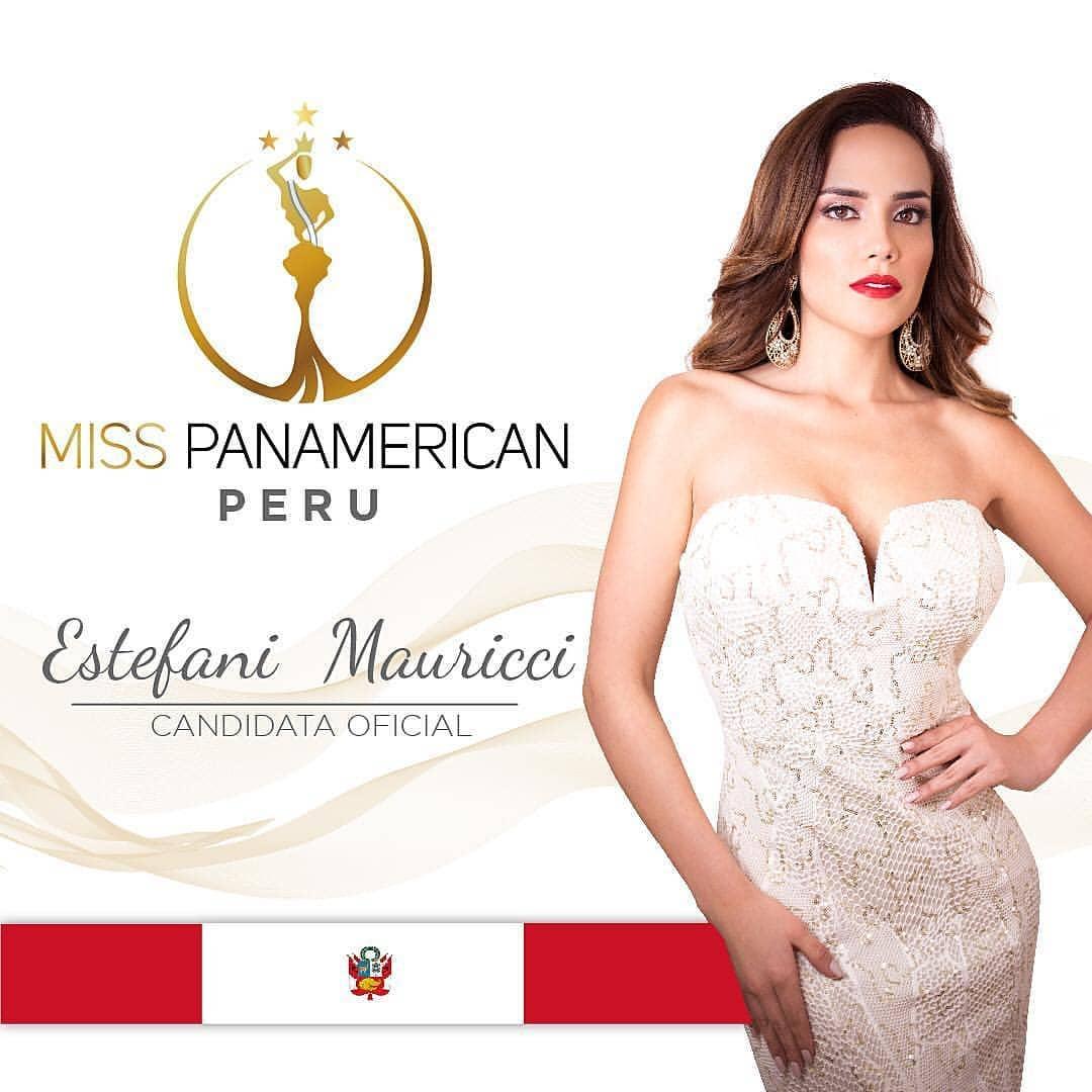 estefani mauricci, segunda finalista de miss panamerican international 2018. - Página 3 43096010