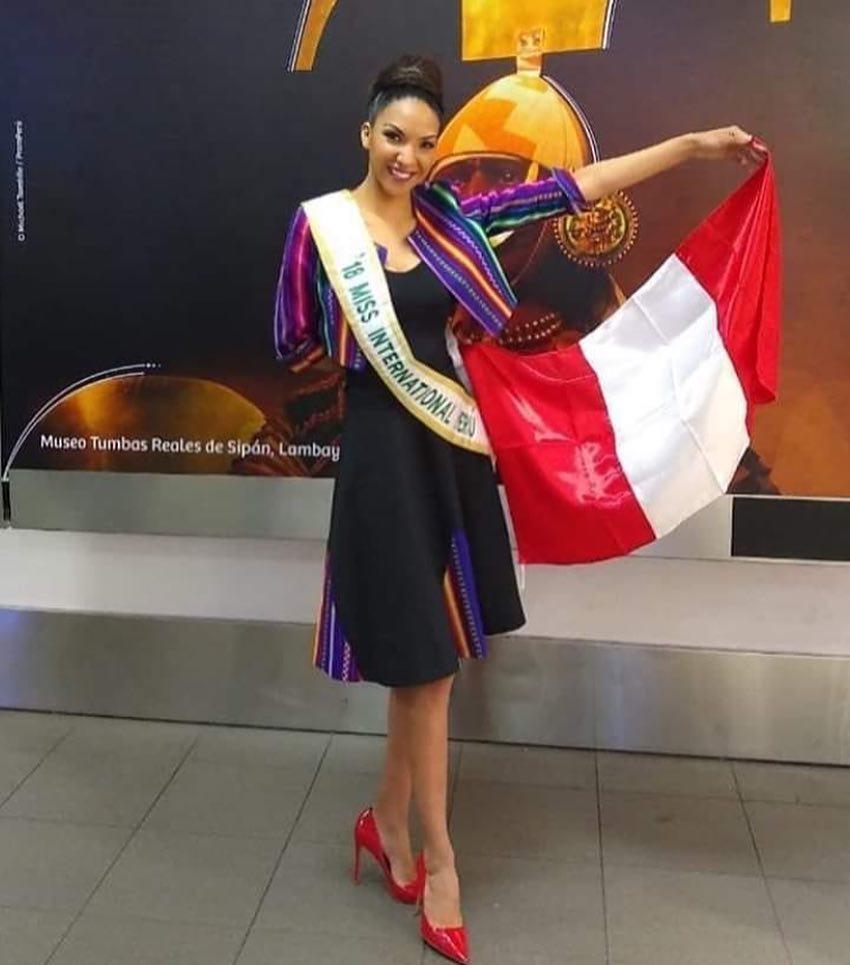 marelid elizabeth medina, miss peru internacional 2018. - Página 2 43385010