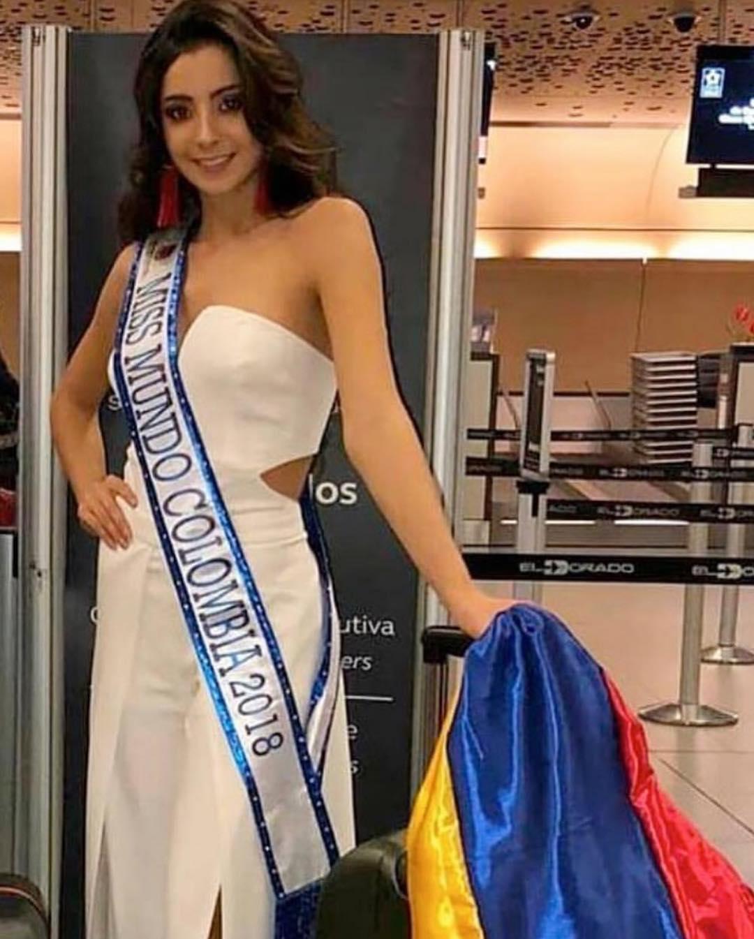 laura osorio hoyos, miss colombia mundo 2018. - Página 2 43758310