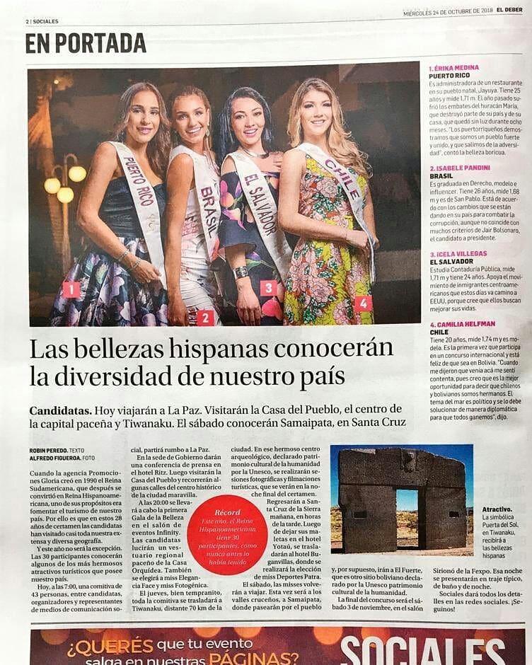 isabele pandini nogueira, miss grand rio de janeiro 2019/vice de reyna hispanoamericana 2018/top 4 de miss global beauty queen 2016. - Página 4 43817411