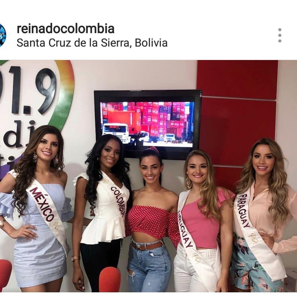 alma diaz, miss colombia hispanoamericana 2018. - Página 3 43817812