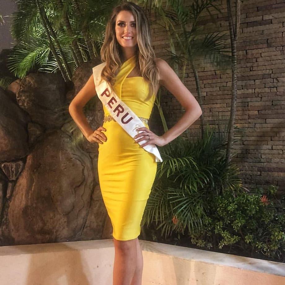 jessica mcfarlane, 7 finalista de reyna hispanoamericana 2018. - Página 3 43985711