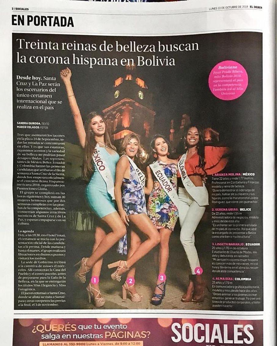 aranza molina, 1 finalista de reyna hispanoamericana 2018. - Página 4 44479910