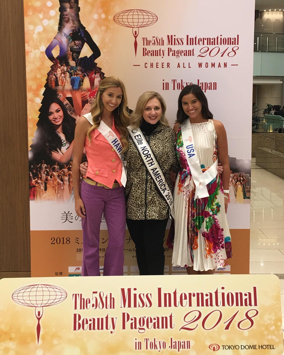 bonnie walls, miss international usa 2018. - Página 2 44519010