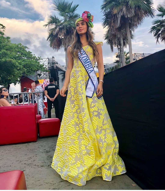valeria morales, miss colombia universo 2018. 45640710
