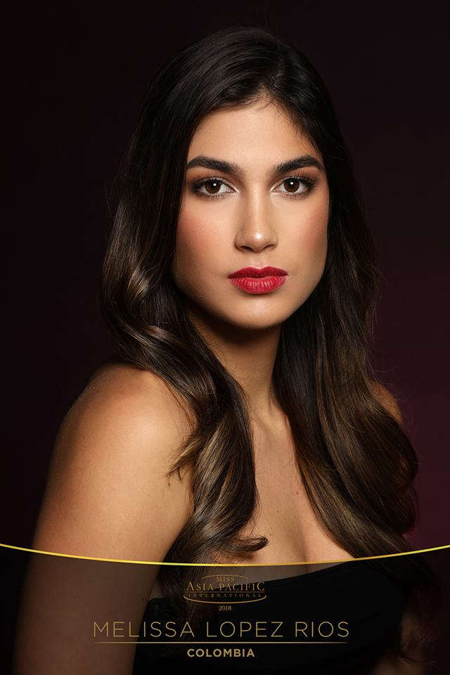 melissa lopez rios, top 20 de miss asia pacific international 2018/top 2 de miss colombia mundo 2018. Dauxt510