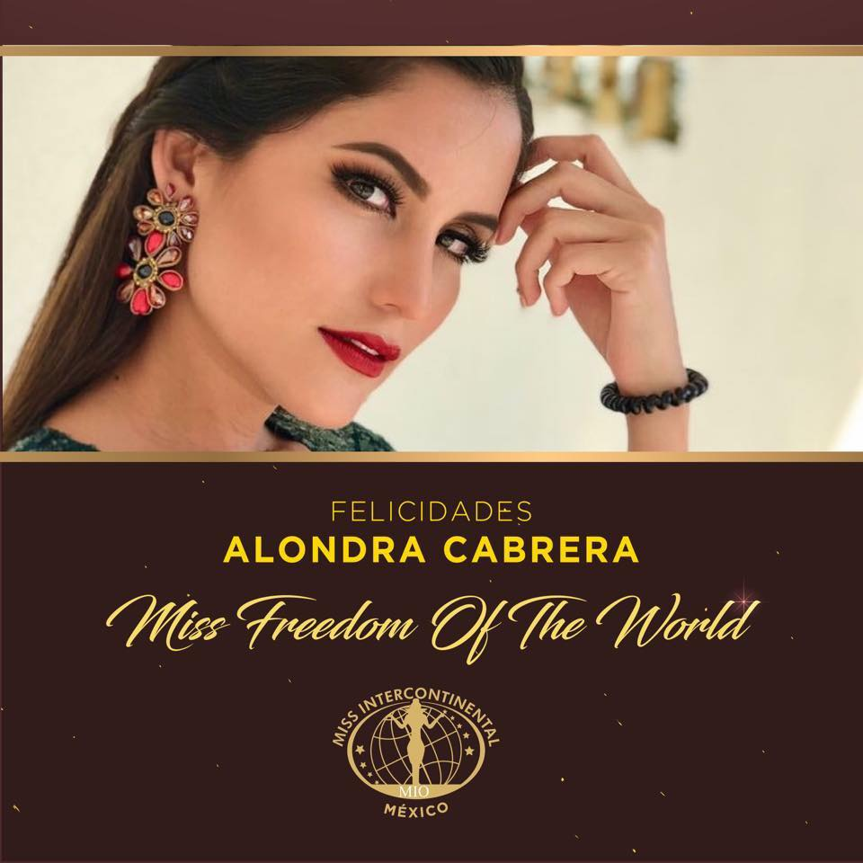 alondra cabrera, miss freedom of the world 2018. - Página 2 Ddr3rq10