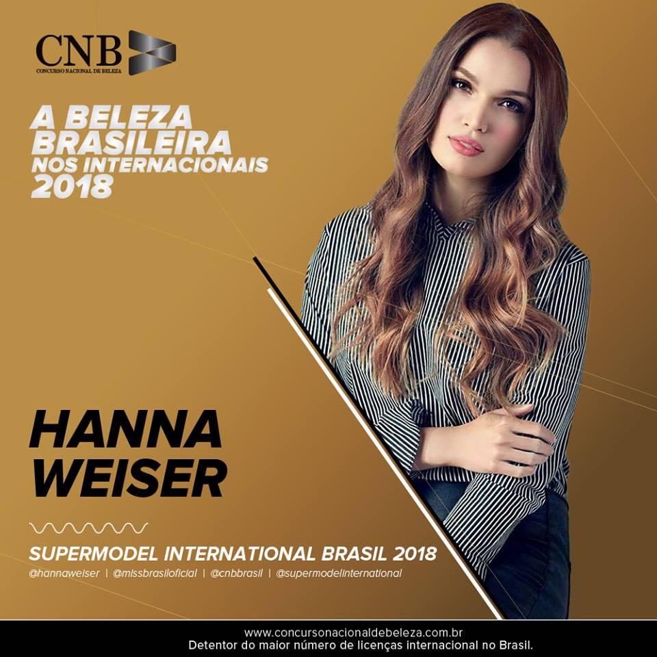 hanna weiser, top 15 de supermodel international 2018/top 10 de miss brasil mundo 2014. - Página 2 Ju7hzg10