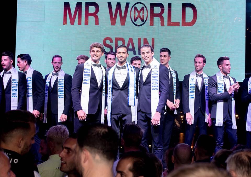 daniel torres (top 9 de mr international 2016) vence mr world spain 2018. ira para mr world 2019. Nz5pmu10
