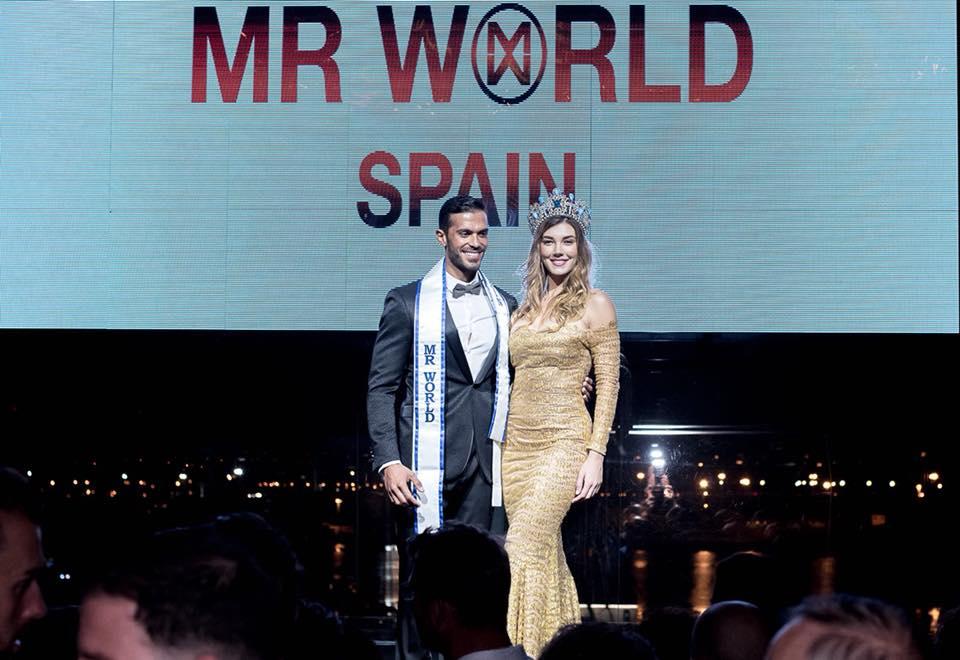 daniel torres (top 9 de mr international 2016) vence mr world spain 2018. ira para mr world 2019. Pzpvn910