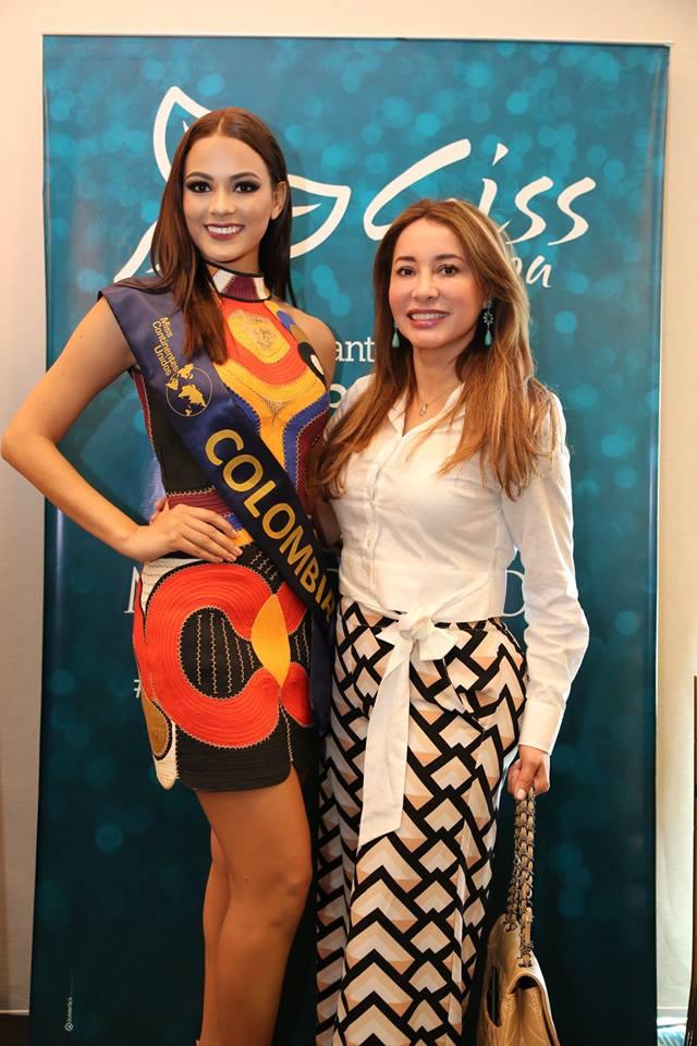 ana catalina mouthon, 2nd runner-up de miss continentes unidos 2018. - Página 2 Rt3evm10