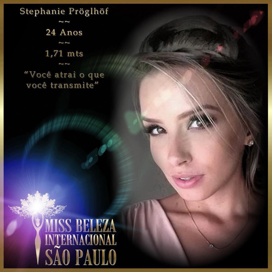 stephanie proglhof, vice do miss brasil internacional 2018, participou do miss international 2018. Sb7cdl10