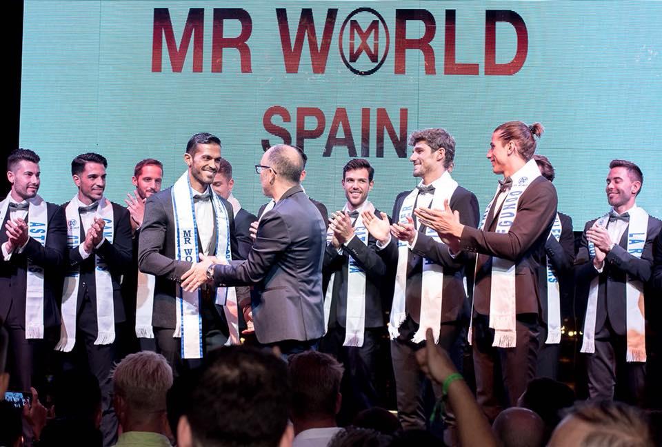 daniel torres (top 9 de mr international 2016) vence mr world spain 2018. ira para mr world 2019. Xzusak10