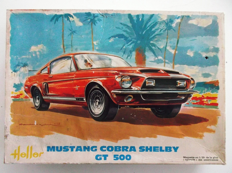 MUSTANG COBRASHELBY GT 500 ech 1/24ème ref L 738 00110