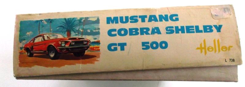 MUSTANG COBRASHELBY GT 500 ech 1/24ème ref L 738 00311