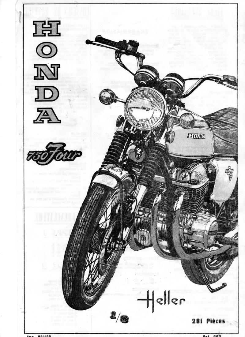 HONDA 750 FOUR 1/8ème  Réf 983 Notice 01712