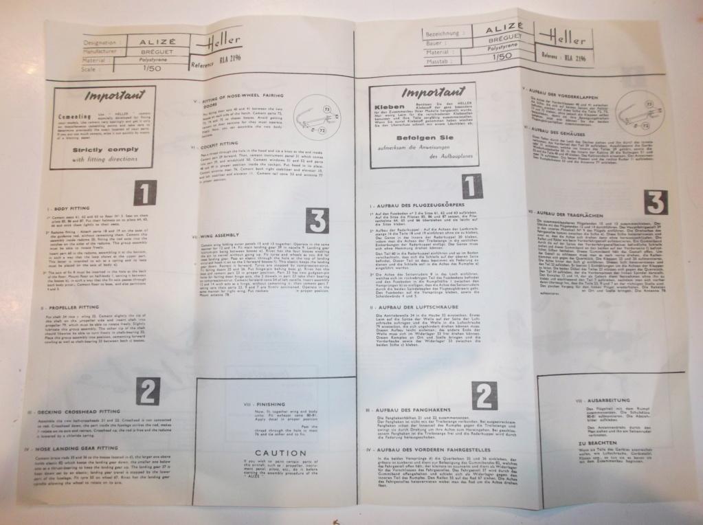 Breguet Alizé au 1/50 en boite Jaune ref :505 Dscf2432