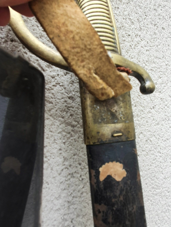 sabre briquet avec ancre de marine 11680310