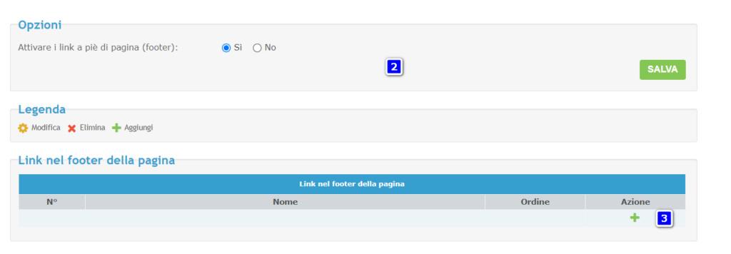 aumentare numero di caratteri nei link del footer Chiuso11