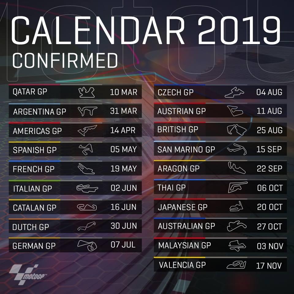 Calendrier des courses 2019 50943310
