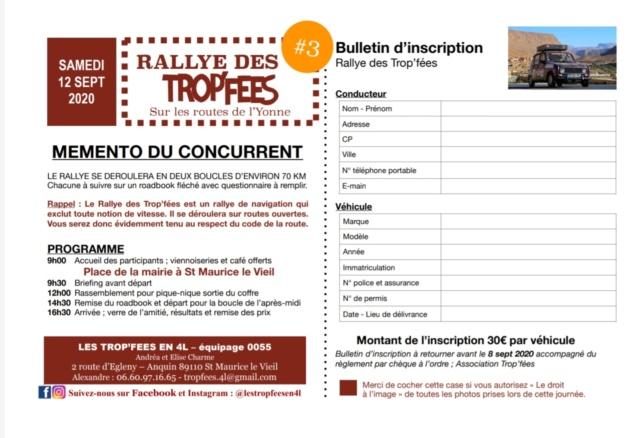 3eme RALLYE DES TROP'FÉES A LA DECOUVERTE DES ROUTES DE L'YONNE 12 SEPTEMBRE 2020 Img_2018